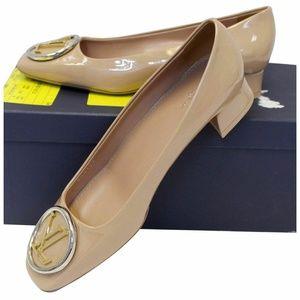 Louis Vuitton Shoes - LOUIS VUITTON Madeleine Ballerina Patent Pumps